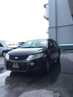 TOYOTA ALLION 1.5 A BI-FUEL