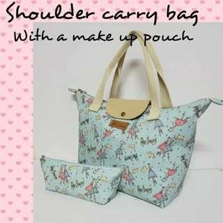 Handmade Shoulder Carry Bag