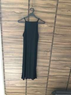 BNWT black knit dress