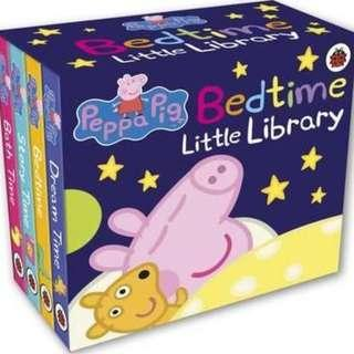 Peppa Pig🐽🐽迷你圖書館📚睡前故事篇💤💤