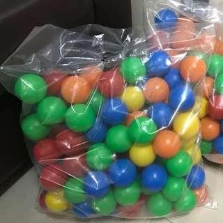全新Edu play happy ball 波波池波波 數字波100個送波波池遊戲池