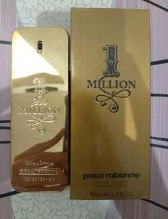 Baru ori spore parfum 1 million paco rabanne