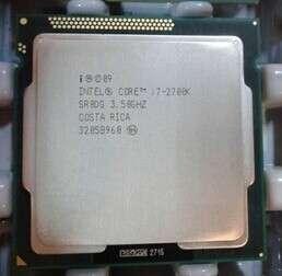 Cpu i7 2700k