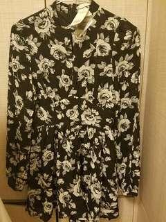 全新Lowrys Farm絲質裙褲 購自日本