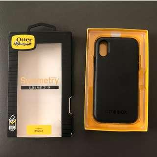 Otterbox Symmetry Case for iPhone X (Black)