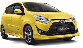 All New TOYOTA AGYA