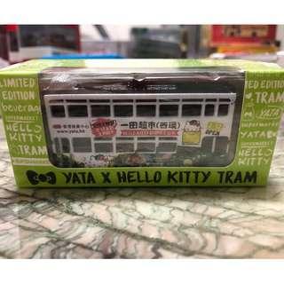 Tiny 微影 x Hello Kitty Tram 一田 電車