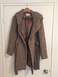Calvin Klein size M beige winter jacket
