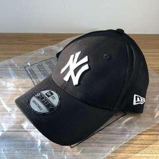 Topi New Era 9forty Adjustable Cap / Hat New York Yankees Black