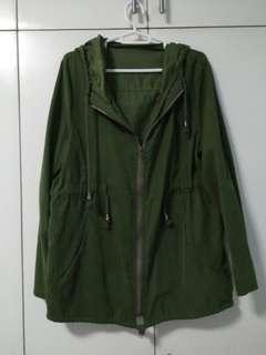 Moss Green Parka Jacket