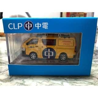 Tiny 微影 CLP 中電 維修車