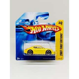 HOT WHEELS 2007 FIRST EDITIONS PORSCHE CAYMAN S