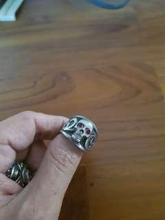 rare custom sliver ring