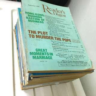 Reader's Digest Classic from 1983 onwards (15 books)