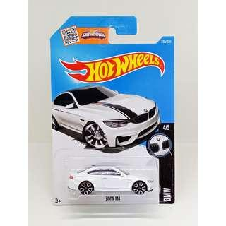 HOT WHEELS 2016 BMW SERIES BMW M4