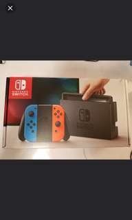 Nintendo Switch Neon Set