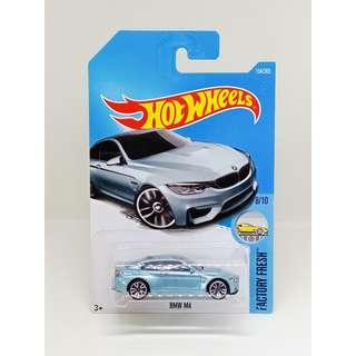HOT WHEELS 2017 FACTORY FRESH BMW M4