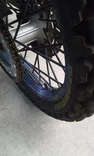 Excel Rims (Takasago) Made In Japan (Blue)
