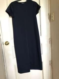 F&H long basic dress