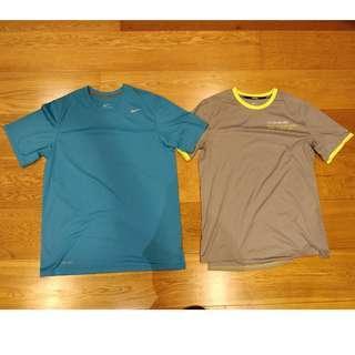 Nike Dri-Fit apparel (shirts and shorts)
