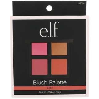 Brand New E.L.F. Cosmetics, Blush Palette, Light, Powder, 0.56 oz (16 g)