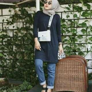 RSSP98 Marion Blouse Navy