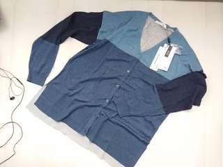 Cardigan Lacoste Blue
