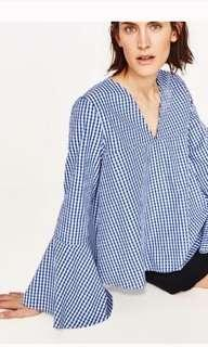 ZARA COOL CHECKERED SHIRT