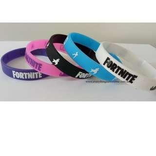 New 10 pcs Fortnite Battle Royale Wristbands Bracelets