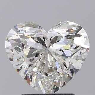 GIA_2️⃣卡❤️心形鑽石
