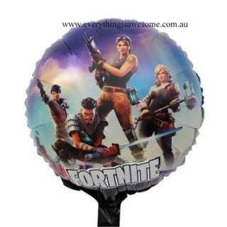 New 5 pcs Fortnite Foil Balloon