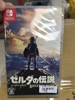 🚚 全新Nintendo Switch 薩爾達傳說