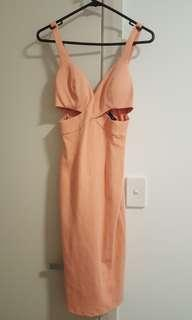 Bardot pink dress