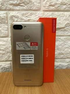 xiaomi redmi 6 3/32GB distri 1th kredit tanpa kartu kredit