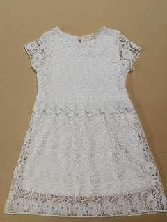 ZARA Girls Lace Dress