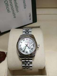 Rolex Ladies DateJust 179174  26mm Automatic MOP dial