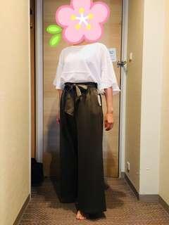 🚚 🇯🇵日本專櫃Discoat寬版白上衣