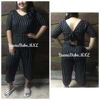 3902e77e1ab Online Sale  P390 only !!! 💋Plus Size Floral Jumpsuit 💫Blend ...