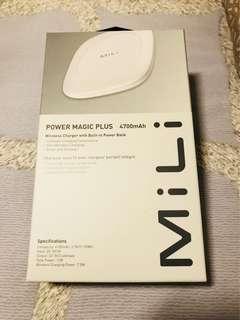 MiLi Power Magic Plus 無線充電墊 4700mAh wireless charger