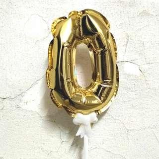 慶生數字氣球 - 0