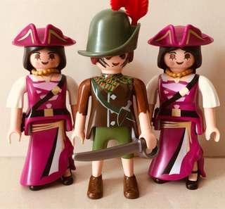 Playmobil Female Pirates