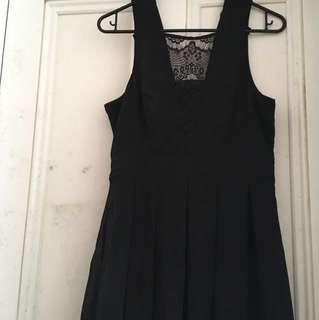 Pagani black lace dress