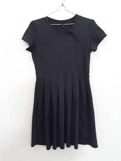 Dark Grey Dress Gee8ight 100% Original