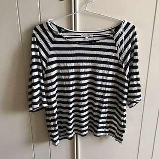 Colorbox Stripes Crop Top