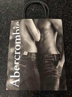 Abercrombie small carrier bag