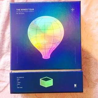 BTS THE WINGS TOUR IN SEOUL DVD