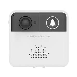VESAFE Home VS-A10 HD 720P Security Camera Smart WiFi Video Music Ring Doorbell, Support TF Card & Night Vision for IOS and Android