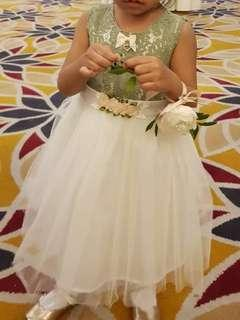 LOVELY LACE Flower Girl Lace Dress