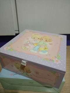 BN Precious Moments Jewelry Box