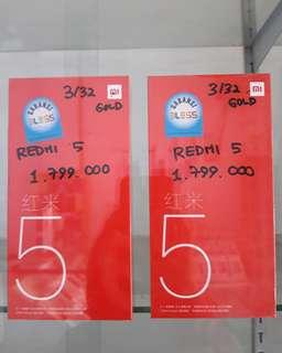 Xiaomi redmi 5 ram 3/32 gb